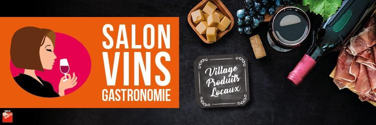 Bannière du salon vins et gastronomie de la ville de Vannes